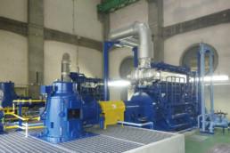 水島下水処理場雨水ポンプ機械設備