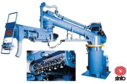 Continuous Mixer for chemical sander(SINTOKOGIO, LTD.)