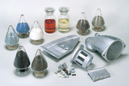 Consumable parts and materials(Media/Compound/Abrasives/Long Life) (SINTOKOGIO, LTD.)