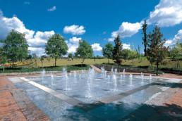 Fountain Facility at Tsuyama Green Hills