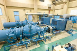 Hattori Drainage Pump Plant Pumping System