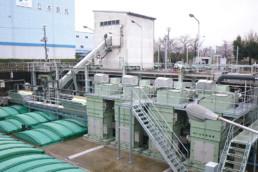 Water Treatment Plant at Ichimonji Pump Station in Iwakuni-city