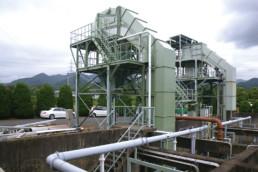 山口市浄水センター水処理設備