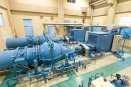 服部排水機場ポンプ設備