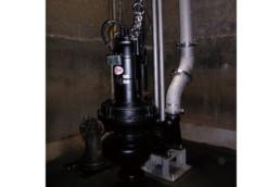 四国中央市大江汚水ポンプ場水処理設備